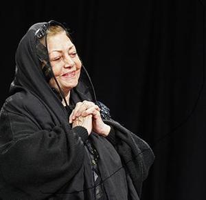 حمیده خیرآبادی در دومین جشن بازیگران سینما